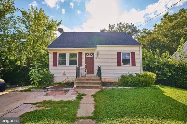 163 Lambert Drive, MANASSAS PARK, VA 20111 (#VAMP2000256) :: Colgan Real Estate