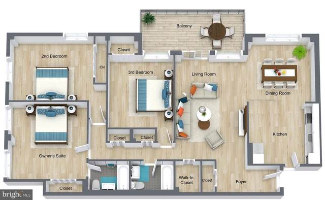 10201 Grosvenor Place #902, NORTH BETHESDA, MD 20852 (#MDMC2015540) :: Ultimate Selling Team