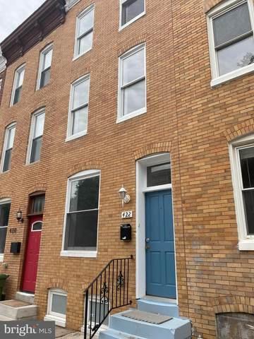 422 E Lanvale Street, BALTIMORE, MD 21202 (#MDBA2012140) :: Ultimate Selling Team