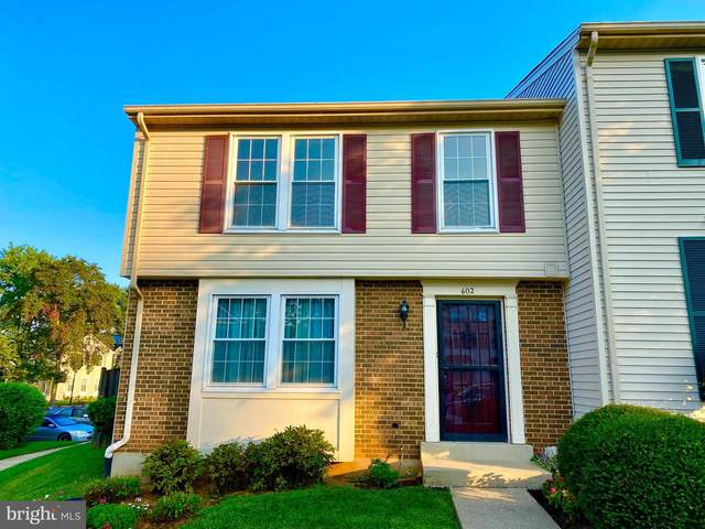 602 Whitcliff Court, GAITHERSBURG, MD 20878 (#MDMC2015960) :: The Team Sordelet Realty Group