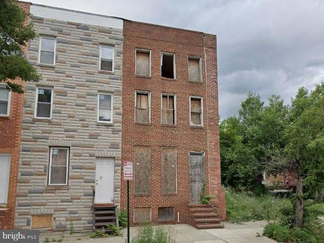 1806 W Lombard Street, BALTIMORE, MD 21223 (#MDBA2012818) :: The Maryland Group of Long & Foster Real Estate