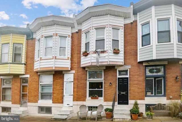 249 S Ellwood Avenue, BALTIMORE, MD 21224 (#MDBA2012826) :: The Vashist Group