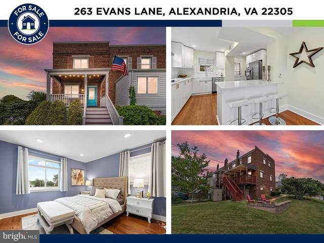263 Evans Lane, ALEXANDRIA, VA 22305 (#VAAX2003952) :: AG Residential