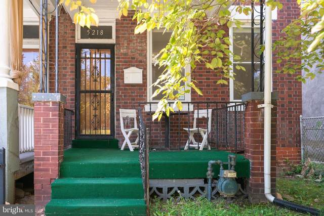 5218 Illinois Avenue NW, WASHINGTON, DC 20011 (#DCDC2014452) :: AG Residential