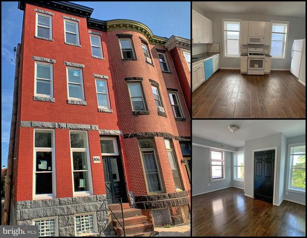 806 Reservoir Street, BALTIMORE, MD 21217 (#MDBA2013190) :: The Maryland Group of Long & Foster Real Estate