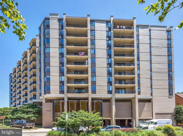 4242 East West Highway #409, CHEVY CHASE, MD 20815 (#MDMC2016988) :: The MD Home Team