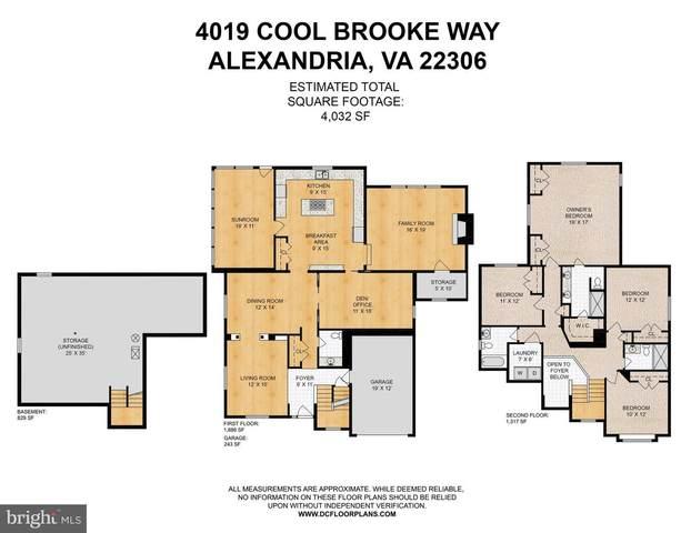 4019 Cool Brooke Way, ALEXANDRIA, VA 22306 (#VAFX2023332) :: The Sky Group