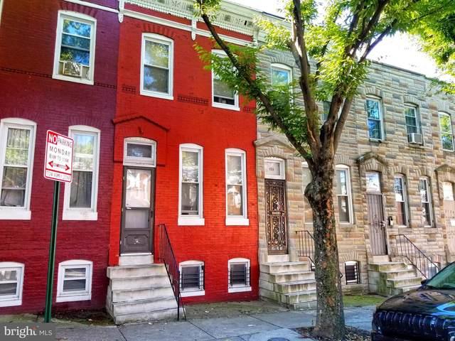 2123 W Lexington Street, BALTIMORE, MD 21223 (#MDBA2013372) :: CENTURY 21 Core Partners