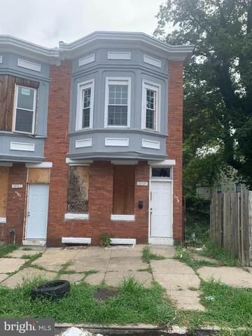 1719 N Longwood Street, BALTIMORE, MD 21216 (#MDBA2013446) :: Crossman & Co. Real Estate