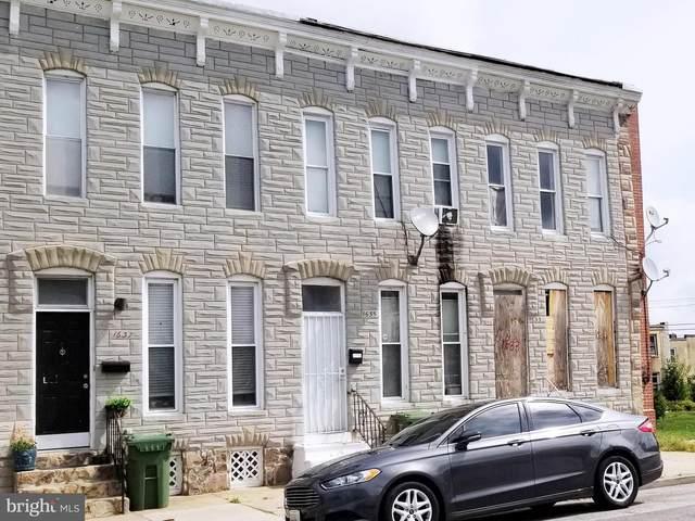 1635 N Calhoun Street, BALTIMORE, MD 21217 (#MDBA2013516) :: Advance Realty Bel Air, Inc