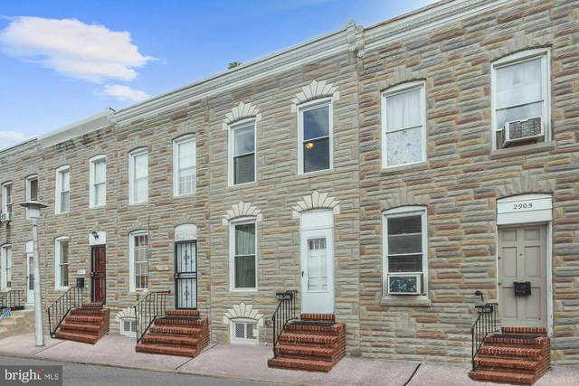 2907 Miles Avenue, BALTIMORE, MD 21211 (#MDBA2013620) :: The Sky Group