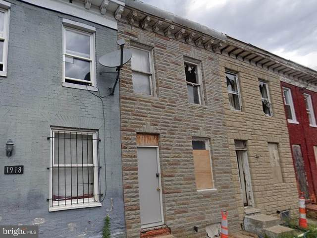 1916 Lemmon Street, BALTIMORE, MD 21223 (#MDBA2013648) :: The Maryland Group of Long & Foster Real Estate