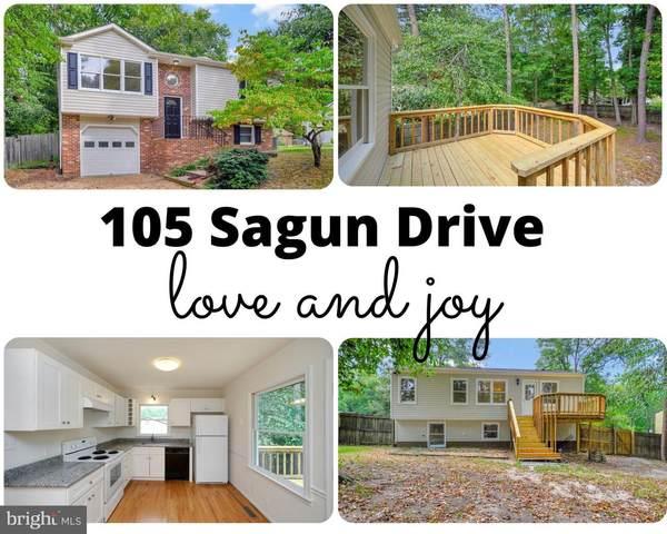 105 Sagun Drive, FREDERICKSBURG, VA 22407 (#VASP2003154) :: The Licata Group / EXP Realty