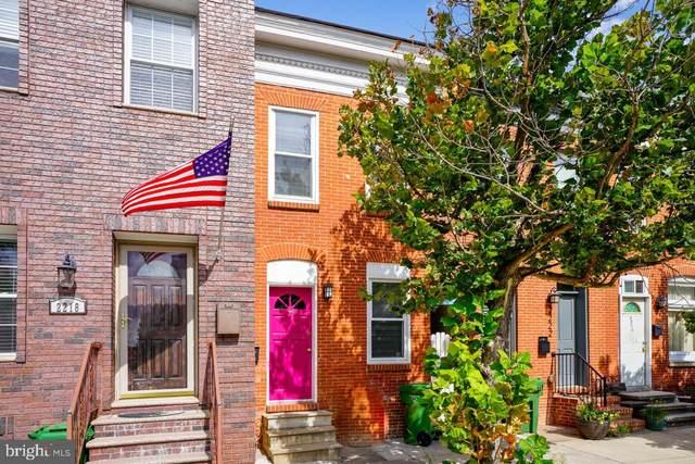 2220 Essex Street, BALTIMORE, MD 21231 (#MDBA2013754) :: Corner House Realty