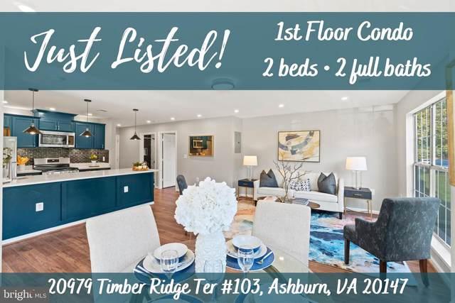 20979 Timber Ridge Terrace #103, ASHBURN, VA 20147 (#VALO2009440) :: The Gus Anthony Team