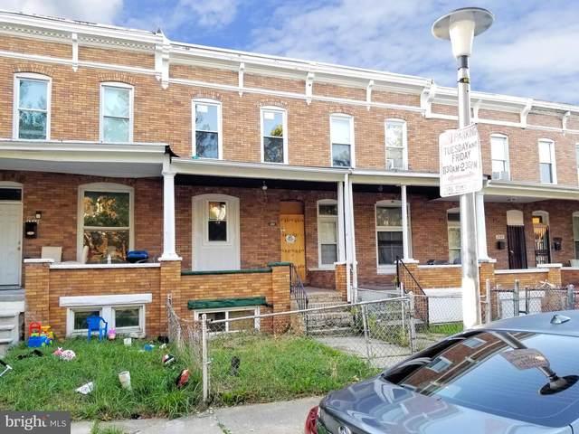 1711 E 30TH Street, BALTIMORE, MD 21218 (#MDBA2014158) :: Pearson Smith Realty