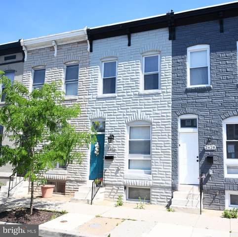 2426 Ashland Avenue, BALTIMORE, MD 21205 (#MDBA2014222) :: City Smart Living