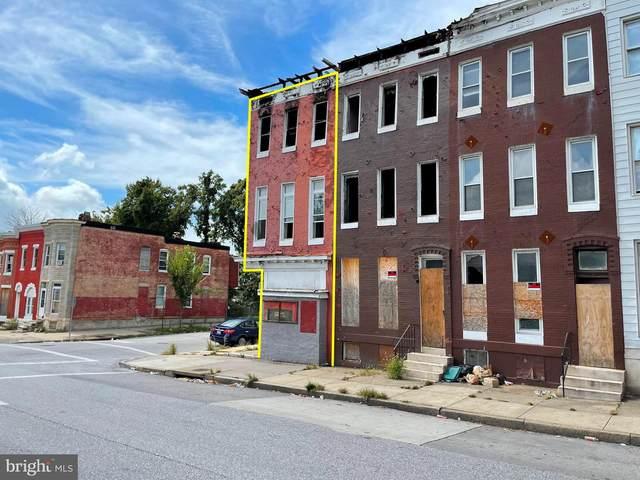 1700 N Fulton Avenue, BALTIMORE, MD 21217 (#MDBA2014362) :: Compass