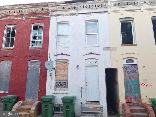 225 S Vincent Street, BALTIMORE, MD 21223 (#MDBA2014392) :: Dart Homes