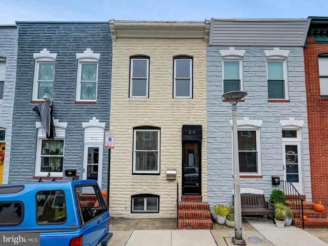 814 S Robinson Street, BALTIMORE, MD 21224 (#MDBA2015196) :: Revol Real Estate