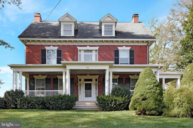 48 Linden Avenue, MERCERSBURG, PA 17236 (#PAFL2002672) :: The Craig Hartranft Team, Berkshire Hathaway Homesale Realty
