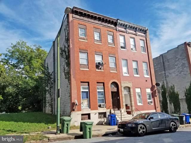 529 N Carrollton Avenue, BALTIMORE, MD 21223 (#MDBA2015794) :: Dart Homes