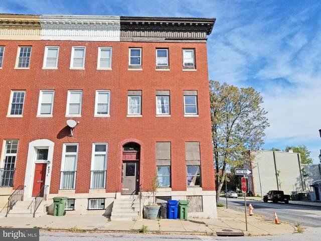 601 N Carrollton Avenue, BALTIMORE, MD 21217 (#MDBA2015802) :: Dart Homes