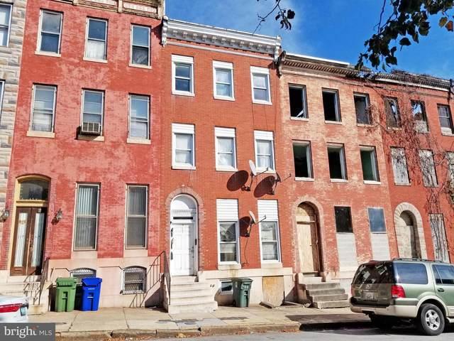 517 N Carrollton Avenue, BALTIMORE, MD 21223 (#MDBA2015808) :: Dart Homes