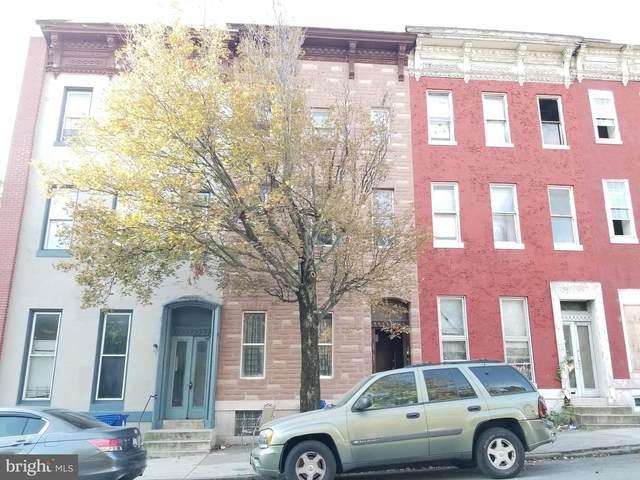 1525 Edmondson Avenue, BALTIMORE, MD 21223 (#MDBA2015812) :: Dart Homes