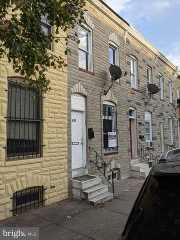429 N Glover Street, BALTIMORE, MD 21224 (#MDBA2015842) :: The Mike Coleman Team