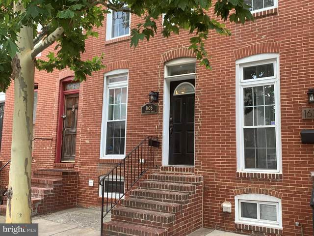 1635 S Hanover Street, BALTIMORE, MD 21230 (#MDBA2015864) :: The Miller Team