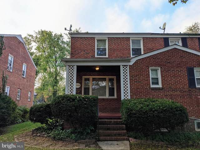3902 Rosecrest Avenue, BALTIMORE, MD 21215 (#MDBA2016084) :: Frontier Realty Group