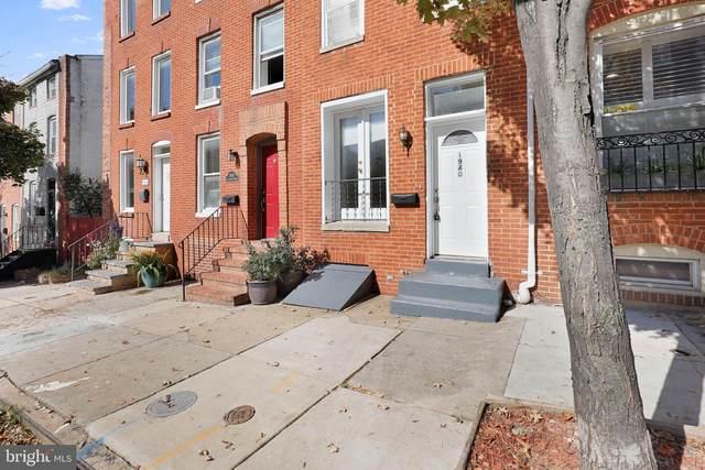1940 E Lombard Street, BALTIMORE, MD 21231 (#MDBA2016096) :: SURE Sales Group