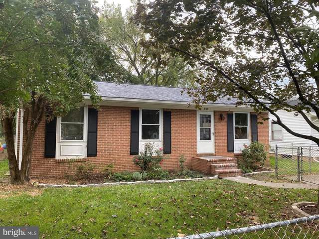 332 Opequon Avenue, WINCHESTER, VA 22601 (#VAWI2000722) :: The Gus Anthony Team