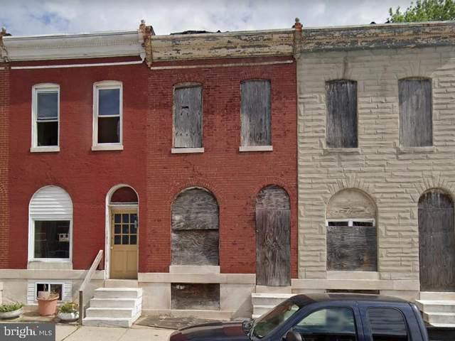 2304 E Hoffman Street, BALTIMORE, MD 21213 (#MDBA2016572) :: Nesbitt Realty