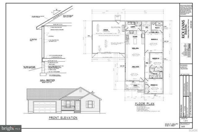Lot 9 Queen Anne Street, DAGSBORO, DE 19939 (#1001568976) :: RE/MAX Coast and Country