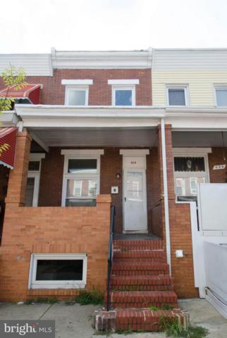 424 Robinson Street N, BALTIMORE, MD 21224 (#1002121166) :: ExecuHome Realty
