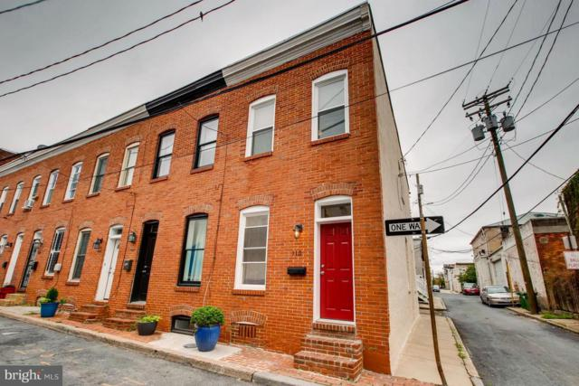 110 Madeira Street, BALTIMORE, MD 21231 (#1007142482) :: The Putnam Group