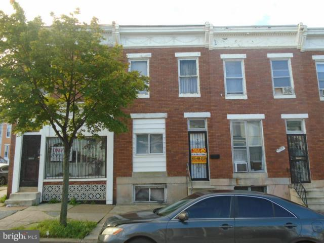 2203 Fayette Street, BALTIMORE, MD 21223 (#1008155718) :: Browning Homes Group