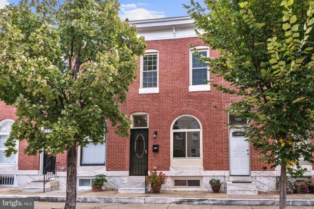 107 Kenwood Avenue N, BALTIMORE, MD 21224 (#1008356268) :: Browning Homes Group