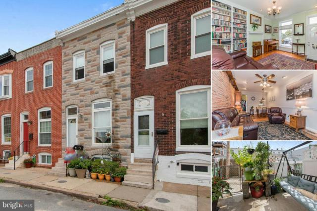 1427 Lowman Street, BALTIMORE, MD 21230 (#1009671908) :: AJ Team Realty
