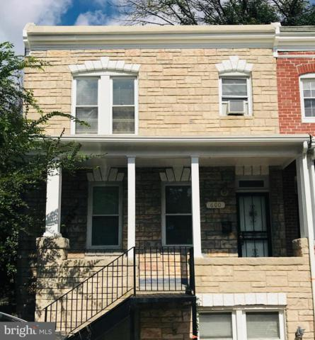 600 Montpelier Street, BALTIMORE, MD 21218 (#1009910572) :: Great Falls Great Homes