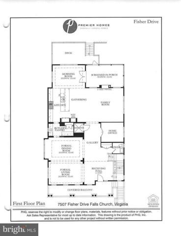 7507 Fisher Drive, FALLS CHURCH, VA 22043 (#1009913246) :: Colgan Real Estate