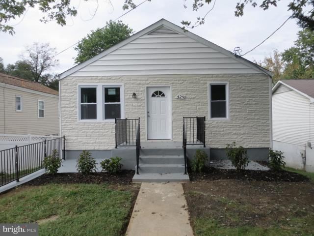 429 Balboa Avenue, CAPITOL HEIGHTS, MD 20743 (#1009924964) :: Great Falls Great Homes