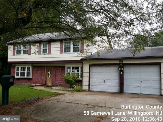 58 Gamewell Lane, WILLINGBORO, NJ 08046 (#1009928406) :: Remax Preferred | Scott Kompa Group