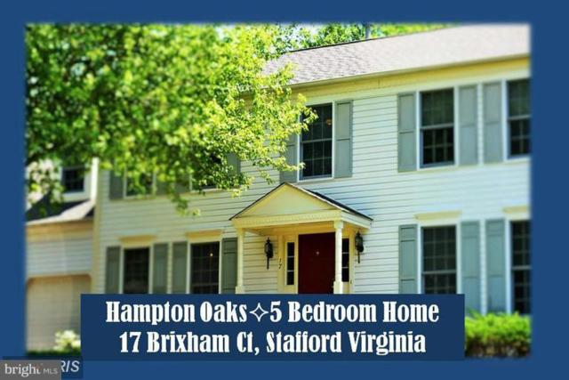 17 Brixham Court, STAFFORD, VA 22554 (#VAST100210) :: The Gus Anthony Team