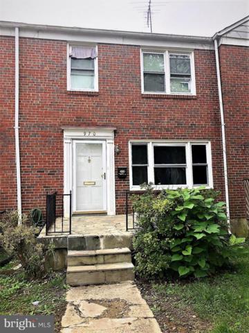 970 Fairmount Avenue, TOWSON, MD 21204 (#MDBC101376) :: Bic DeCaro & Associates