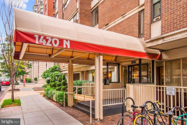 1420 N Street NW #1004, WASHINGTON, DC 20005 (#DCDC260198) :: Lucido Agency of Keller Williams