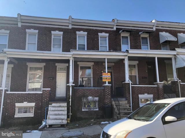 615 E 30TH Street, BALTIMORE, MD 21218 (#MDBA436152) :: ExecuHome Realty