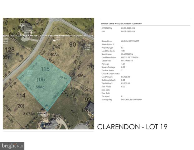 Clarendon - Linden Drive W Lot 19, CARLISLE, PA 17015 (#PACB109702) :: The Joy Daniels Real Estate Group